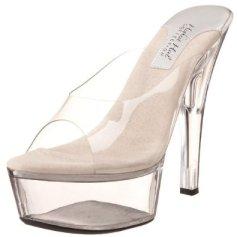 Crystal Platform Sandal